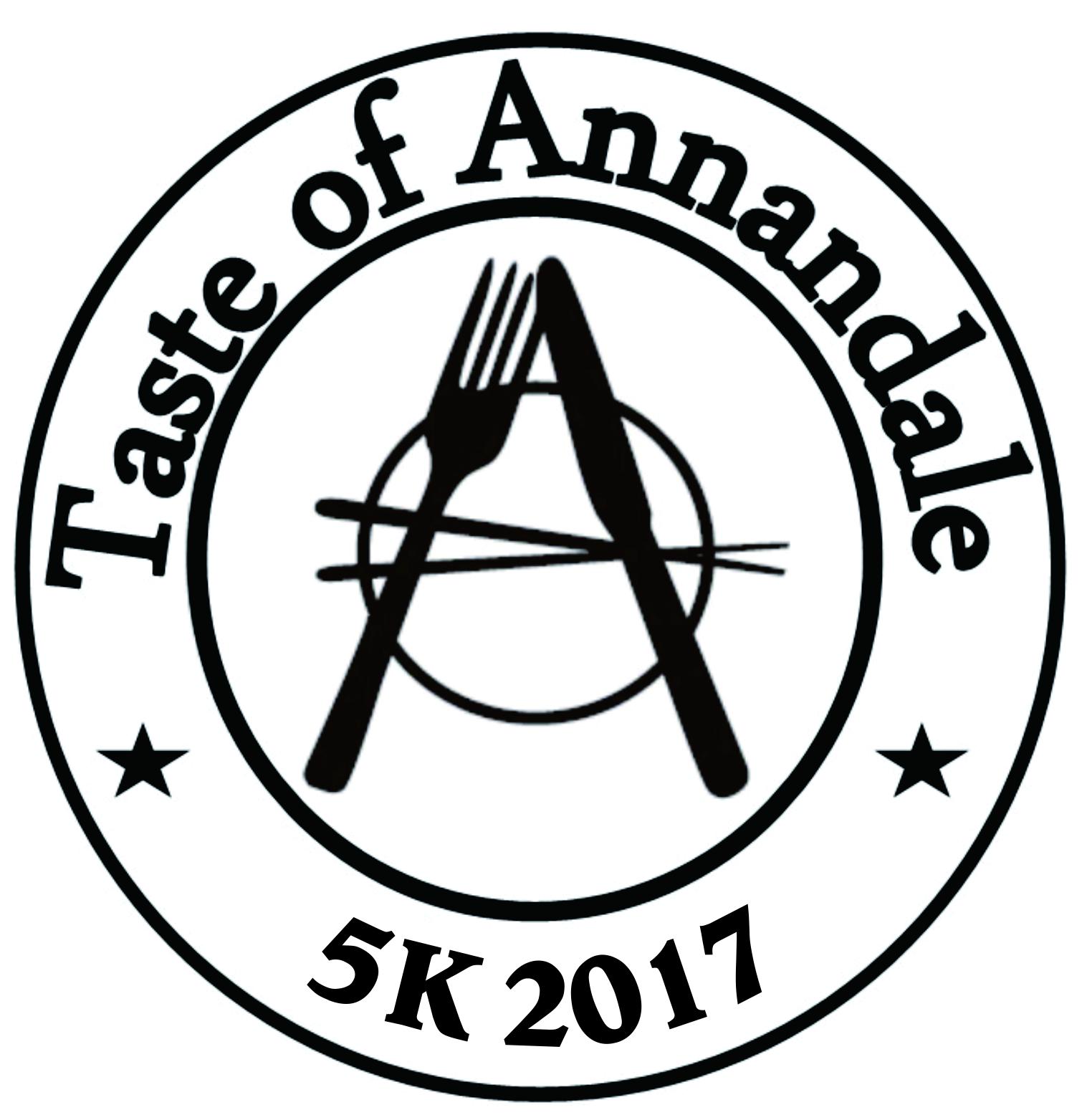 Taste of Annandale 5K Logo